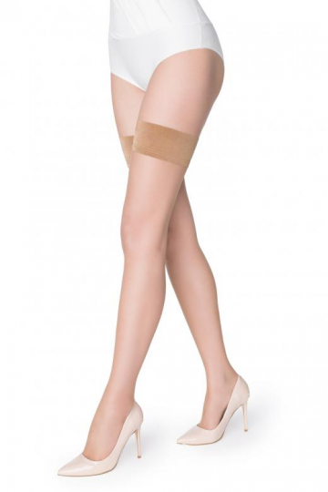 Чулки прозрачные Miss marilyn Exclusive make-up hold-ups 10 (10 den)