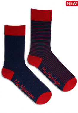 Носки мужские Miss marilyn Socks men dots&stripes